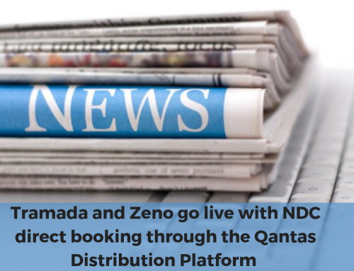 Tramada and Zeno go live with NDC direct booking through the Qantas Distribution Platform